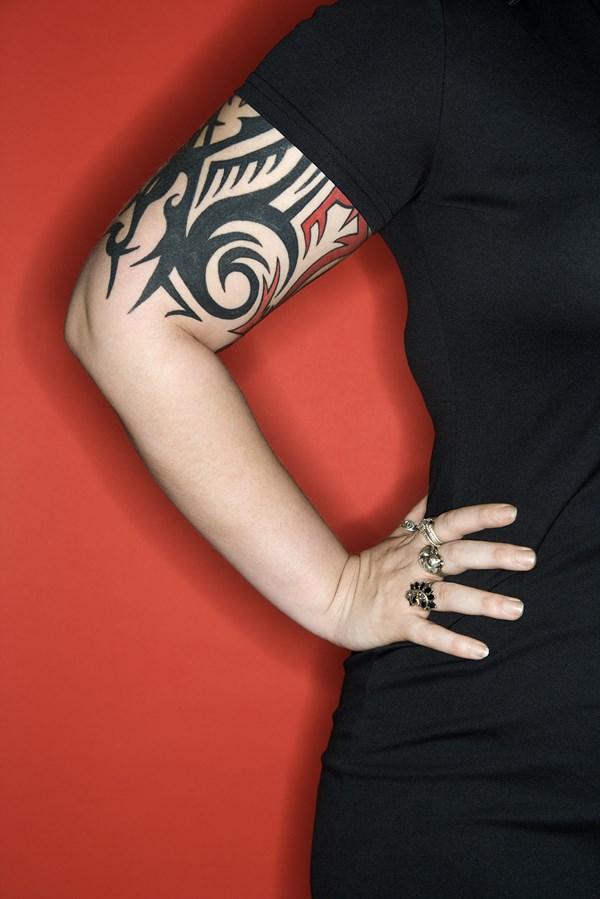 Tatouage bras poignet